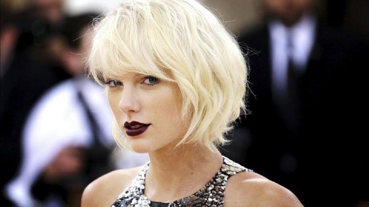 Taylor Swift corre demasiado su vestido y deja ver lo que nunca enseñó ¡Cuidado, peligro de infarto!