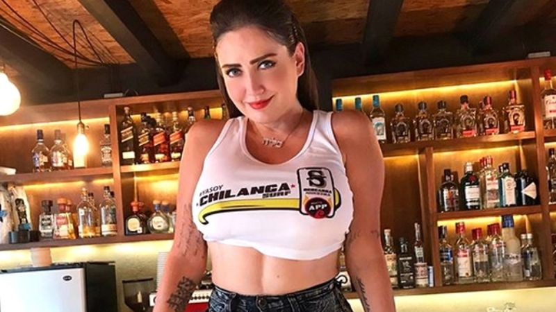 Muy Atractiva Celia Lora Realizó Su Propia Versión De La