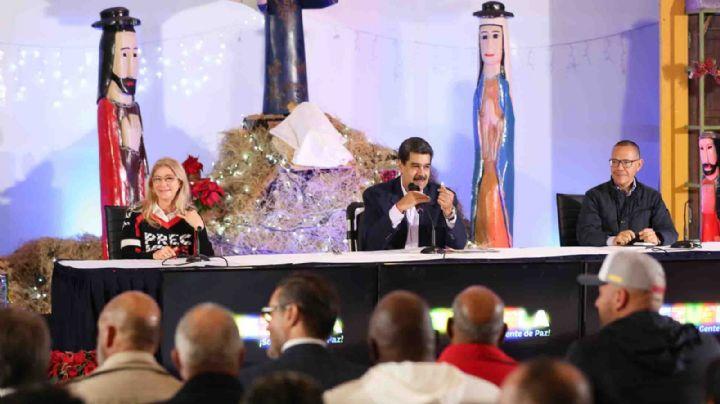 Nicolás Maduro dio inicio a la navidad con gaitas, bailes y villancicos