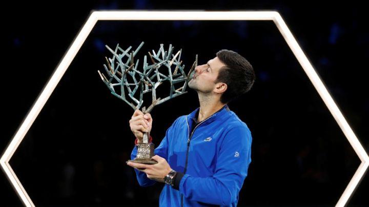 Novak Djokovic, campeón en París
