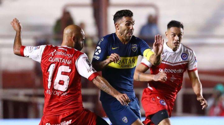 Boca enfrenta a Argentinos para ser el único líder