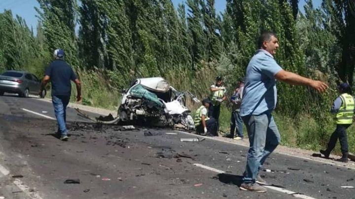 Fuera de control al volante ocasionó un violento choque en Ruta Chica