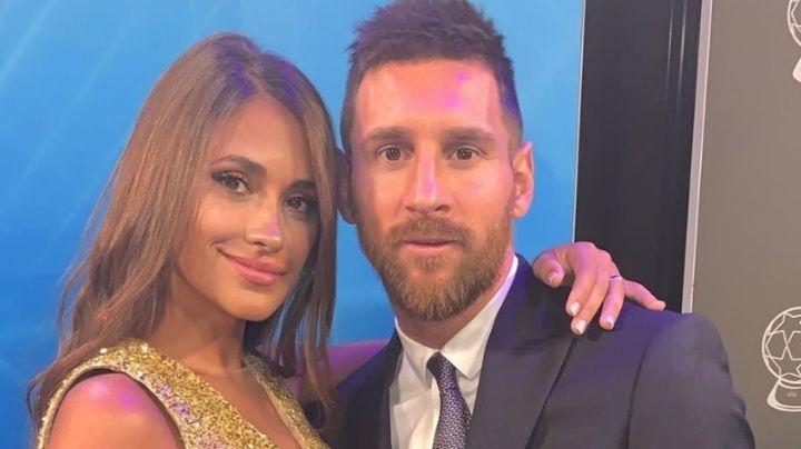 ¡Viva el amor! Antonela Roccuzzo y Lionel Messi tuvieron su noche mágica. ¡Mirá!