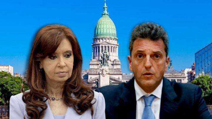 La bajada de pulgar de Cristina Kirchner a Sergio Massa