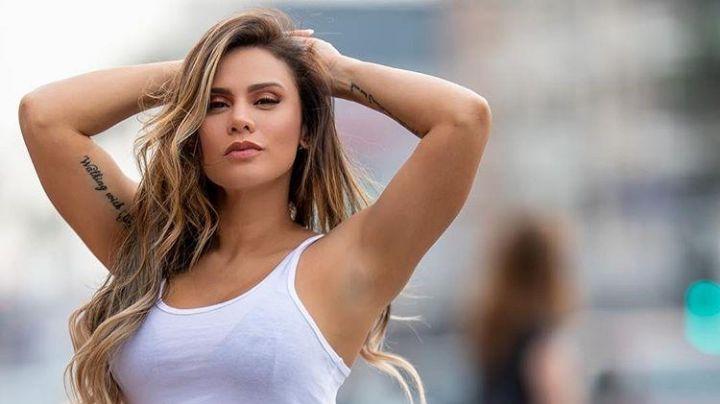 ¡Parecen gelatina! Andrea Espada mueve las caderas y enseña como bailar y ni Shakira puede con ella ¡Rebotando!
