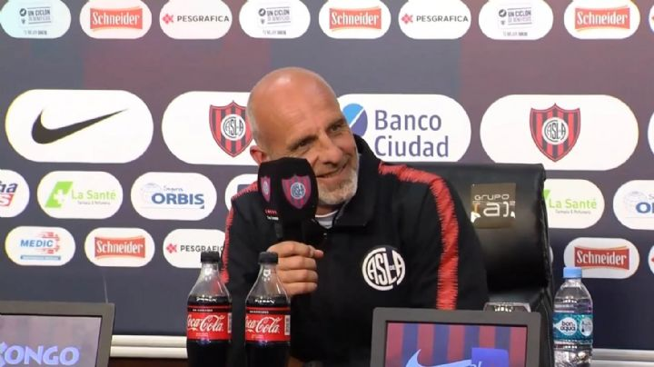 Las explosivas declaraciones de Monarriz luego de la derrota de San Lorenzo