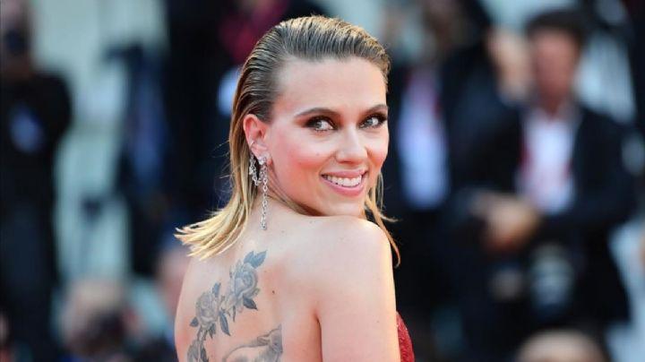 ¿Se operó? Revelan foto de Scarlett Johansson con escote donde ¡se le marcan hasta las venas!
