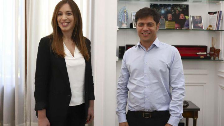 El primer guiño de Vidal a Kicillof: se comprometió a dejar fondos para pagar los sueldos