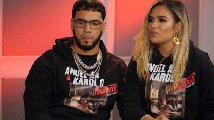 ¿Confirmó ruptura? Karol G rompió el silencio sobre el video de Anuel AA con otras mujeres