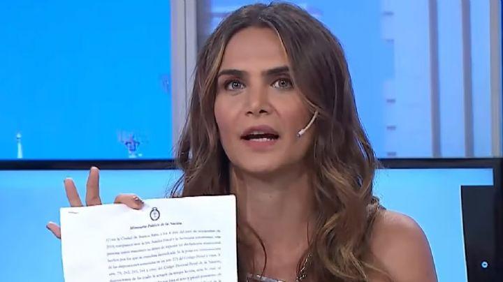 """""""¡Lo mio es cuento de Heydi!"""" Amalia Granata le resta importancia a la denuncia por pedofilia"""