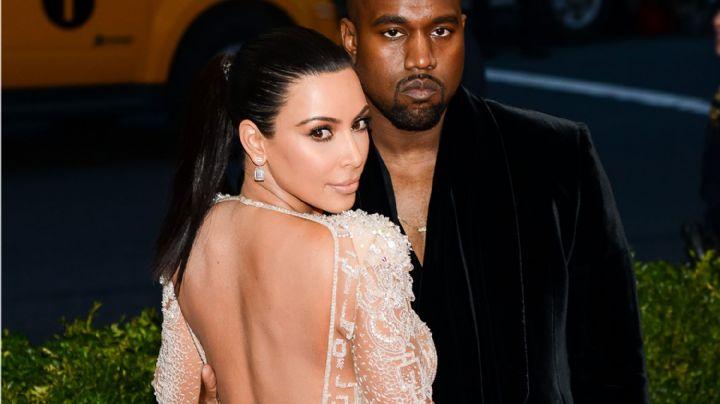 """¡Camaleónica!"": Kim Kardashian con ""durazno"" para atrás mostró su ajustado outfit. ¡Kanye la frena!"