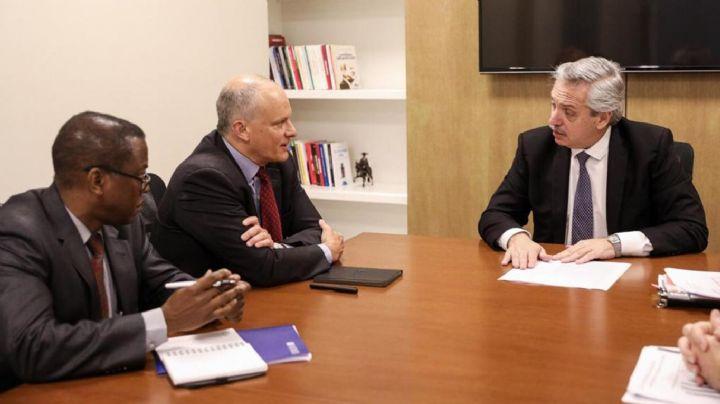 La renegociación está en marcha: Fernández envió a un emisario a reunirse con el FMI