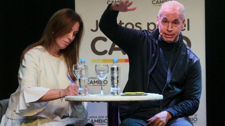 El croquis de Macri y Vidal a Larreta para manejar la Ciudad