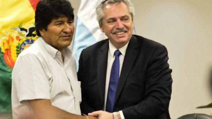 Evo Morales explicó cómo el presidente electo de Argentina le salvó la vida
