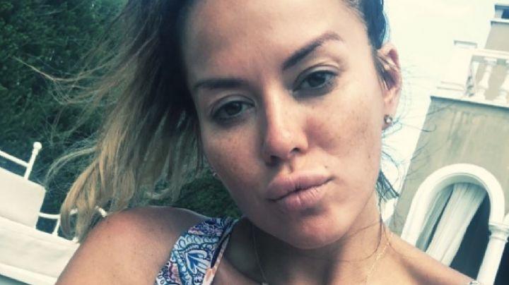 ¡Wow! Karina Jelinek regaló una inolvidable selfie a todos sus fans ¡Qué delantera!