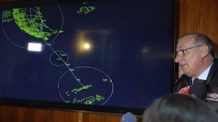Las Fuerzas Armadas de Chile dieron a conocer los nombres de los pasajeros del avión desaparecido
