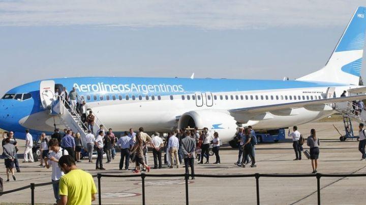 Hubo caos en la pista del aeropuerto por el arribo de cuatro vuelos al mismo tiempo
