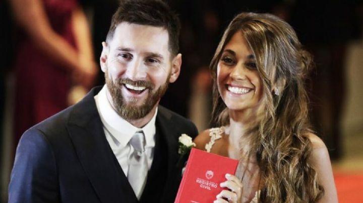 ¿Estará de acuerdo con eso Antonella Roccuzzo? Messi tiene una foto con su nueva amiga