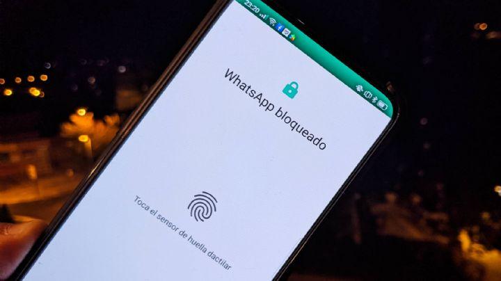 Protege tu usuario de WhatsApp con tu huella digital