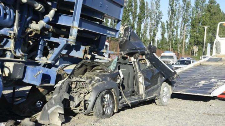 """""""Tragedia en Cipolletti"""": Accidente fatal sobre ruta 22"""