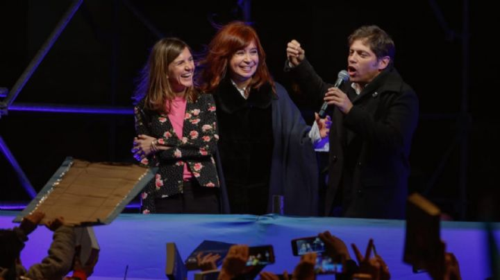 """No es justicia, es persecución"", Axel Kicillof salió a bancar a Cristina Kirchner"