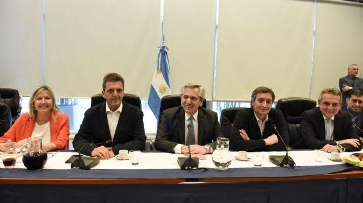 Fernández, Massa y Máximo se reúnen en el Congreso con los legisladores del Frente de Todos