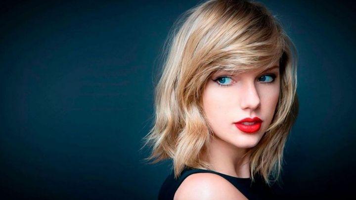 """""""Look fatal"""": Taylor Swift apareció con un vestido corto lleno de transparencias ¡Ojo lo que se ve!"""
