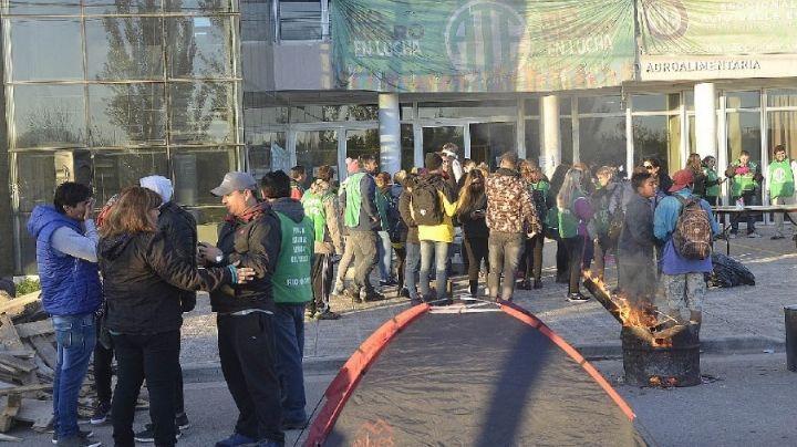 """Jornada de protesta"": Jueves con reclamo de ATE Río Negro"