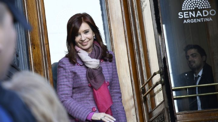 Cristina Kirchner se reúne con la nueva bancada en el Senado