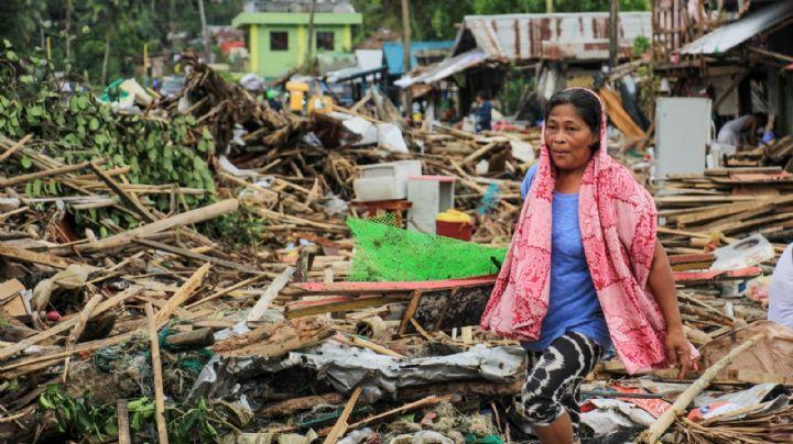 Destrucción y muerte en Filipinas tras la llegada del poderoso tifón Kammuri