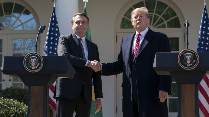 Bolsonaro le aclara a Trump que Brasil no devalúa artificialmente su moneda