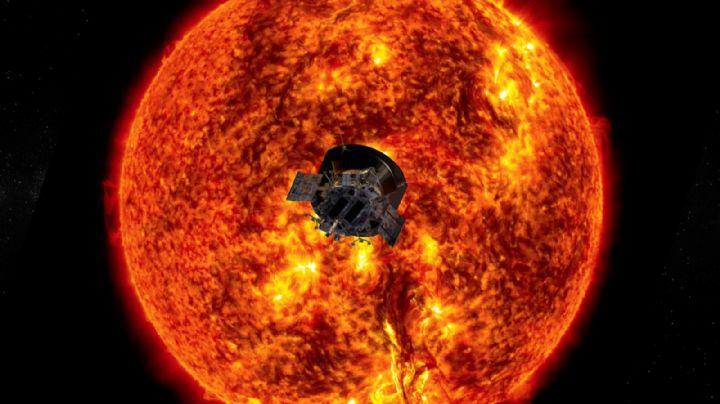 Por primera vez el Sol recibe una nave terrestre