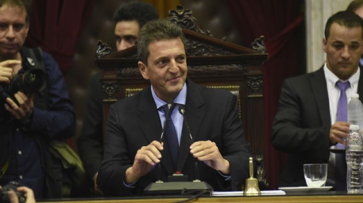 Sergio Massa se consagró como presidente de la Cámara de Diputados