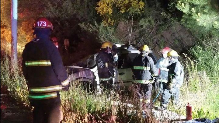 """""""Sobre ruta 40"""": Trágico accidente en San Martín de los Andes"""