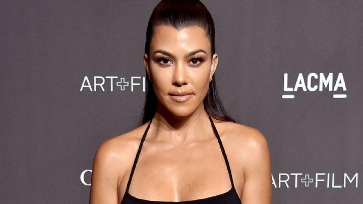 ¡Toda encuerada! Kourtney Kardashian se tomó un selfie que está dando la vuelta al mundo ¡Se lo ha quitó!