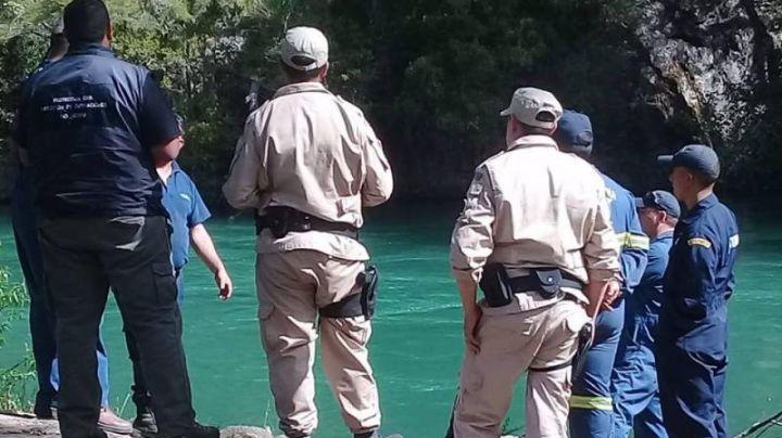 """""""En el río"""": Hallaron en Bariloche el cuerpo de un desaparecido"""