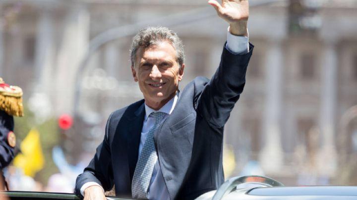 Macri se despide de la presidencia con un acto en Plaza de Mayo