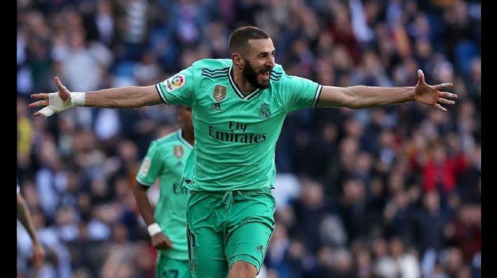 Gran victoria del Real Madrid en la liga española