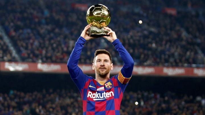 Triunfazo del Barca y un gol histórico de Messi