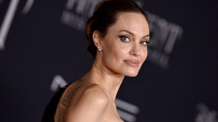 ¡Por fin lo confesó! Angelina Jolie usa doble para una parte de su cuerpo y esta foto lo demuestra