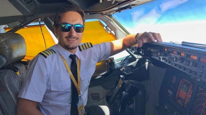 Es neuquino y es el comandante de vuelo más joven del país