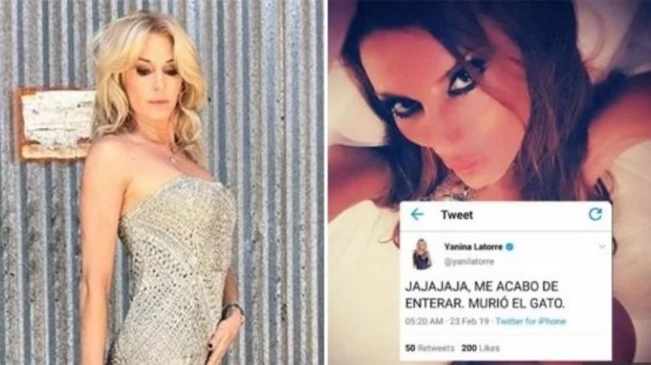 El falso y macabro tweet de Yanina Latorre por la muerte de Natacha Jaitt