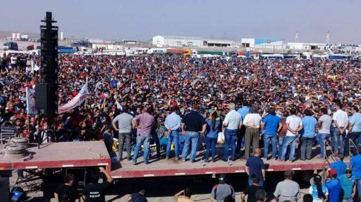 Petroleros en estado de alerta y movilización