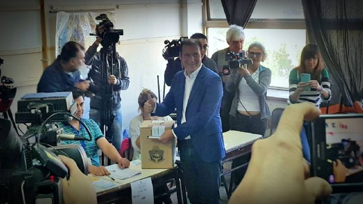Elecciones en Neuquén: Así votó Omar Gutiérrez
