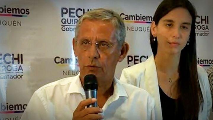 """""""Pechi"""" Quiroga ya reconoció la derrota. VIDEO"""