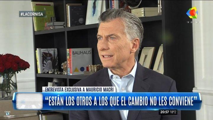 """Mauricio Macri: """"Yo no prometí pobreza cero"""""""
