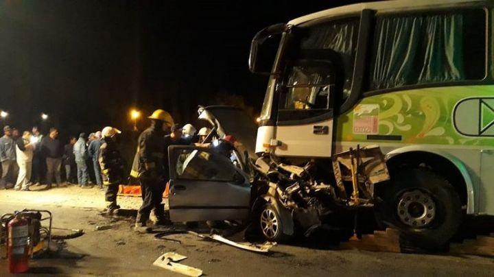 Accidente fatal en Cinco Saltos: Dos muertos