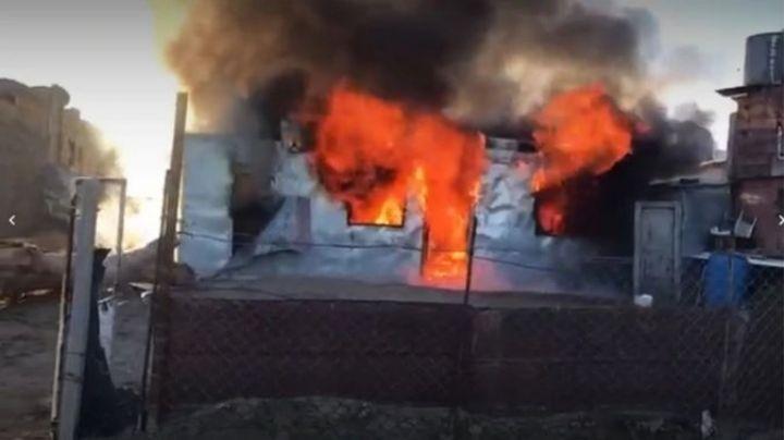 Brutal pueblada en Comodoro Rivadavia, con incendio y muerte