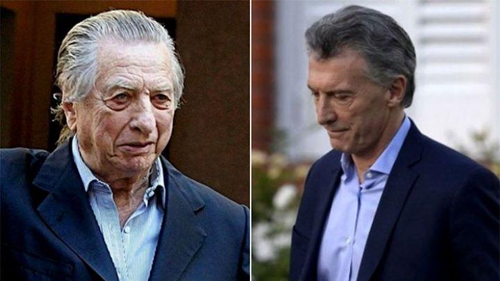El último pedido de Franco Macri a su hijo Mauricio, antes de morir