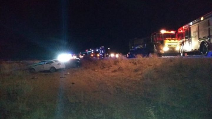 Desgracia en plena ruta 22: Cuatro muertos en un choque frontal
